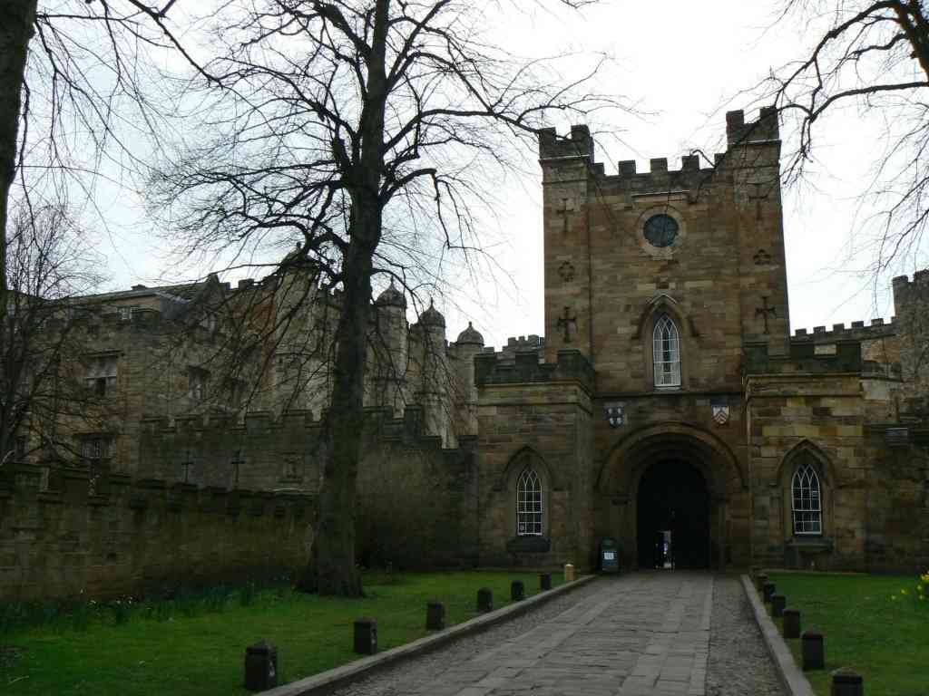 On the doorstep of Palace Green - home to Durham Castle
