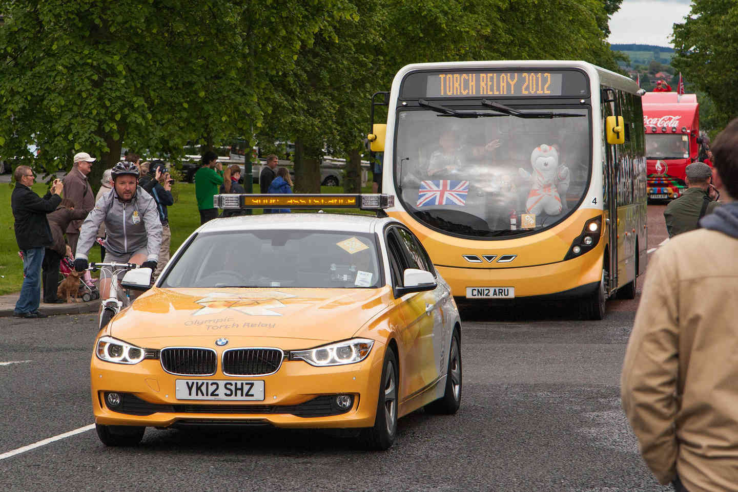 Gilesgate hosts events, like the 2012 Olympic Torch Relay