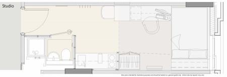 Studio (High Floor)