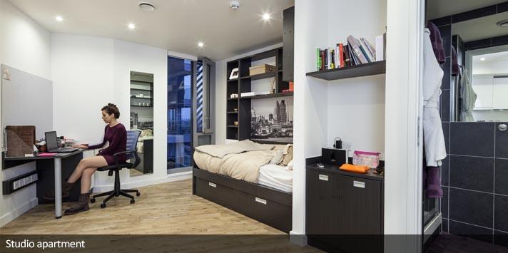 1 bed flat in London - En Suite Room, St Pancras, Camley ...