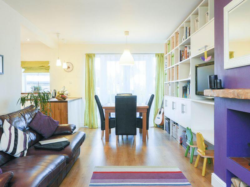 Living room/ open plan  dining