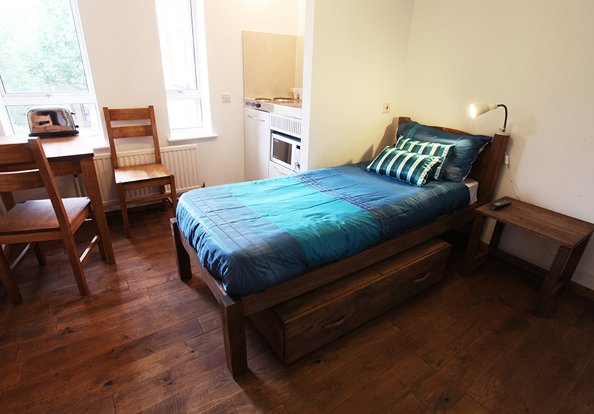 Studio Accommodation In London Single Studio Mapesbury