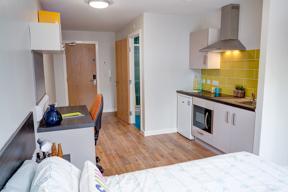 Studio Student Accommodation In Nottingham Premium
