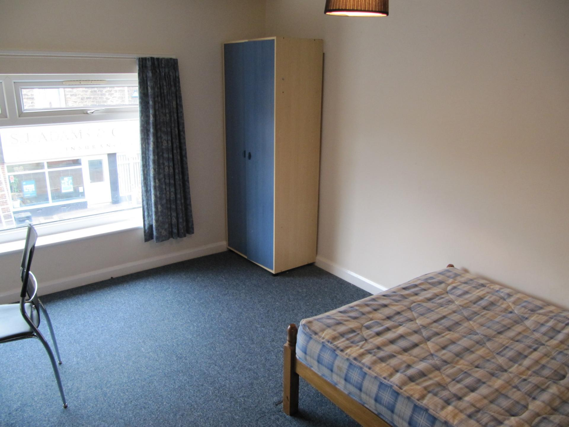 Sheffield student house bedroom