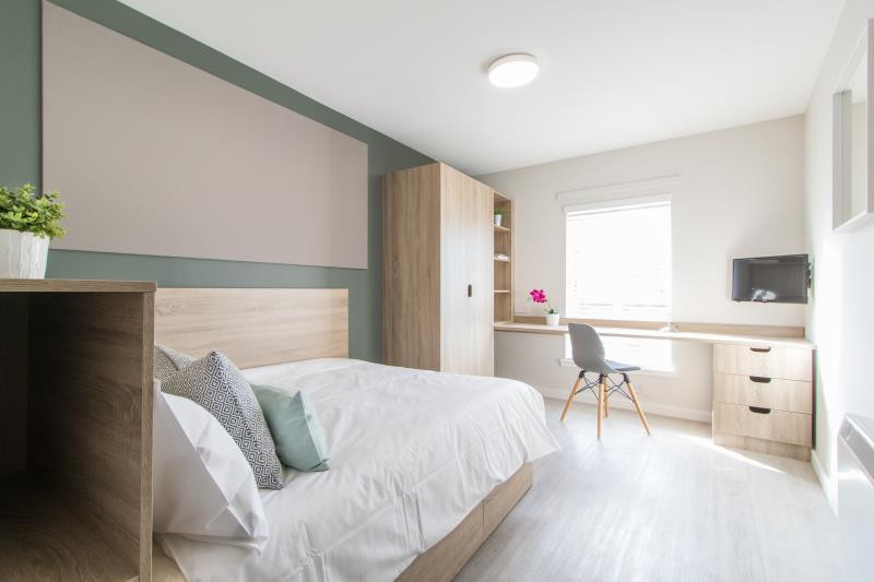 studio student accommodation in edinburgh flat 5 6. Black Bedroom Furniture Sets. Home Design Ideas
