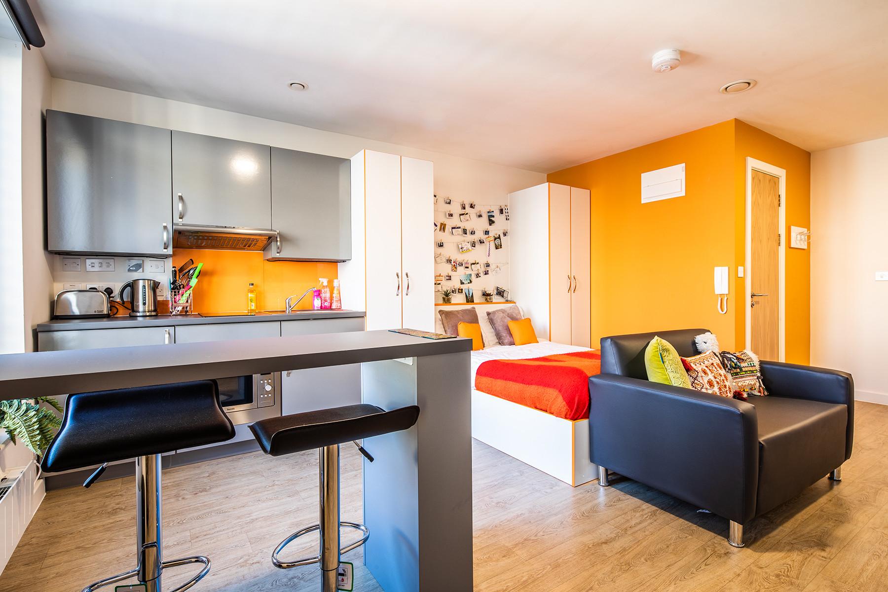 Large Studio Kitchen Area